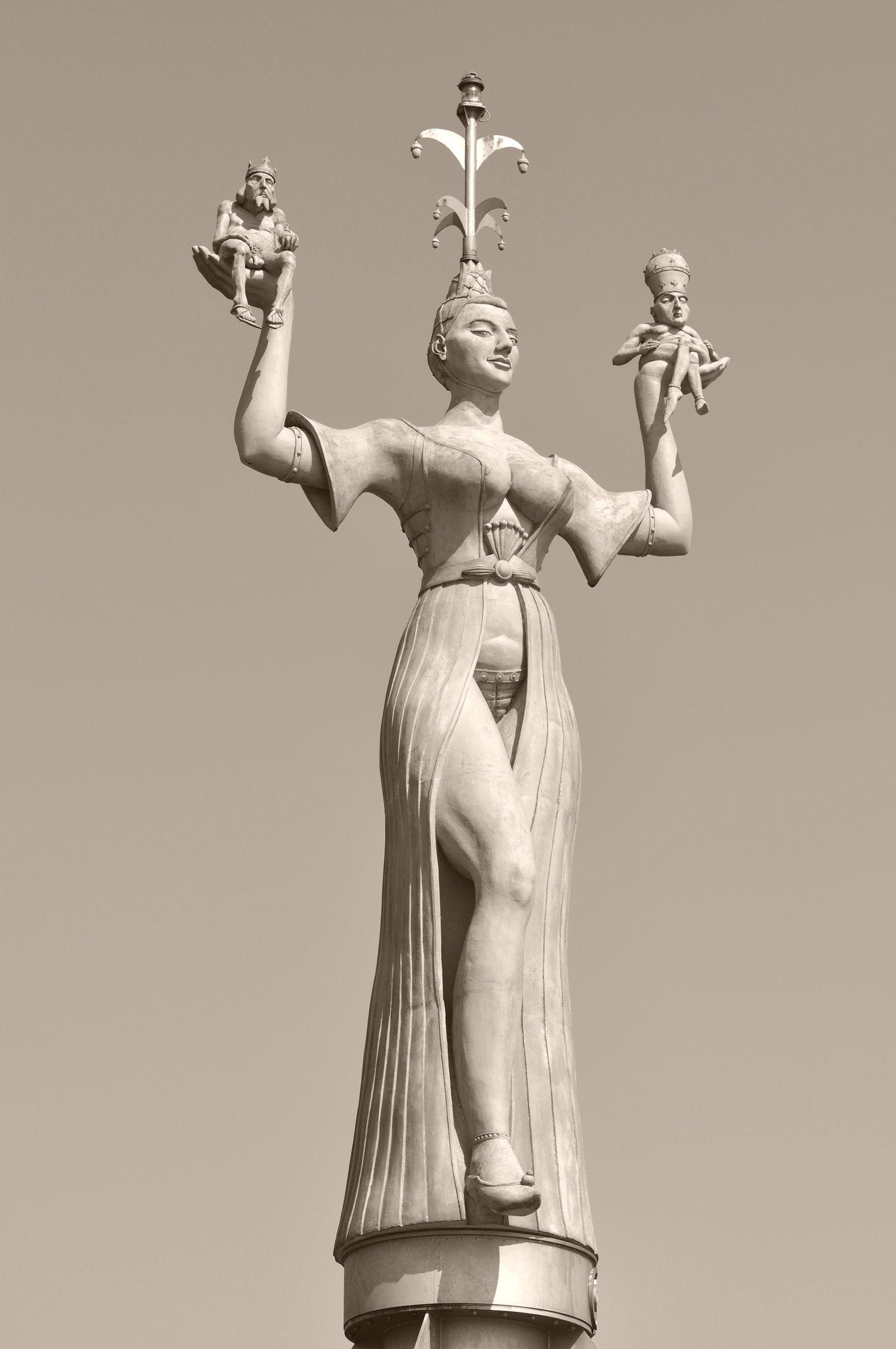 Die Statue der Imperia